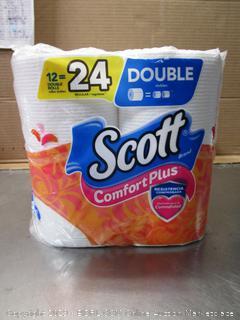 Scott Comfort Plus Double-Roll Toilet Paper