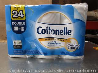 Cottonelle Superior Clean Double-Roll Toilet Paper