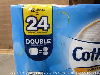 Cottonelle Superior Clean Double-Roll Toilet Paper