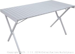Alps Mountaineering Dining Table XL Silver (online $126)