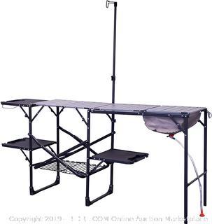 GCI Outdoor Master Cook Portable Folding Camp Kitchen (online $156)