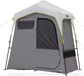 CORE Instant Camping Utility Shower Tent with Changing Room (online $193)