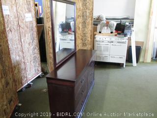 Ashley 6 Drawer Dresser with Mirror