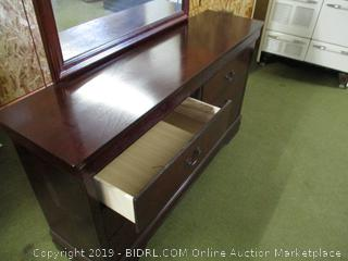 Ashley 6 Drawer Dresser with Mirror