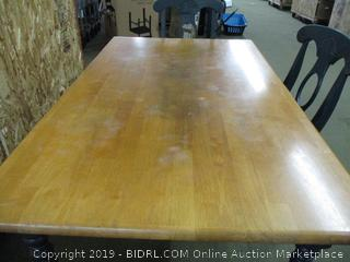 Table with 3 Chairs (Used with Scratches)
