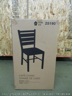 Black Metal Chair