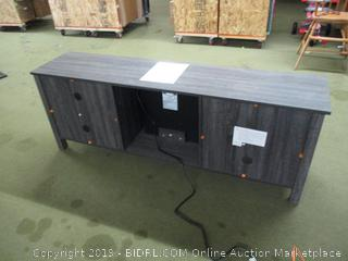 """Tv Stand with Electric Heater Fire Place 70"""" Length"""