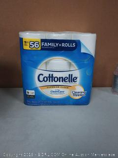 Cottonelle Superior Clean Ultra Clean Care 18 Family Rolls