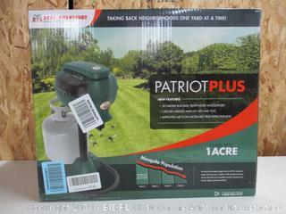 Mosquito Magnet MM4200B Patriot Plus Mosquito Trap (Retail $400)