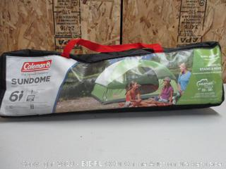 Coleman Dome Tent for Camping Sundome