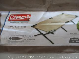 Coleman 765353 Trailhead II Military Style Camping Cot