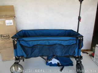 Timber Ridge Camping Wagon Heavy Duty with Side Bag and Storage Bag (Retail $98)