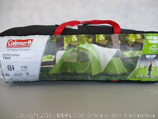 Coleman 8-Person Tent for Camping  Montana Tent with Easy Setup (Used)
