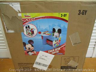 Disney Chair Desk with Storage Bin, Mickey Mouse
