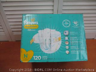 Diapers Newborn / Size 0, Pampers Swaddlers Disposable Baby Diapers