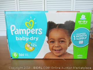 Pampers Diapers Size 6