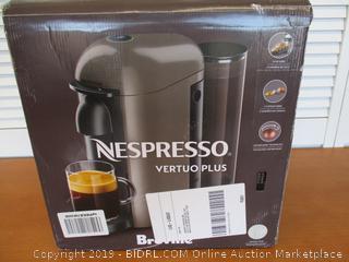 Nespresso VertuoPlus Coffee and Espresso Machine by Breville (Retail $182)