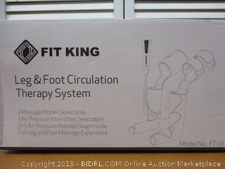 FIT KING Foot and Leg Massager for Circulation with 3 Modes 3 Intensities FT-012A (Retail $130)