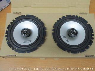 "Alpine SXE-1725S 6.5"" 40 Watt RMS 4 Ohm 2-Way Coaxial Car Audio Speakers"