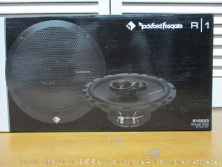 "Rockford Fosgate R165X3 6.5"" Car Speakers Stereo"