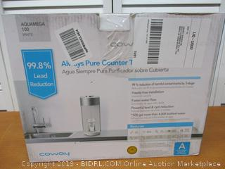 Coway Aquamega 100 Water Purifier, 15.8 x 5.1 x 12.1 (Retail $225)