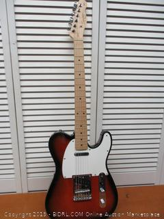 Squier 6 String Solid-Body Electric Guitar, Right Handed, 2 tone sunburst
