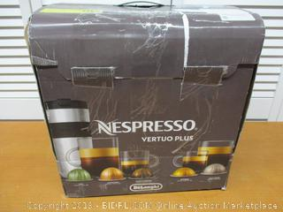 Nespresso ENV155T VertuoPlus Deluxe Coffee and Espresso Machine by De'Longhi (Retail $190)