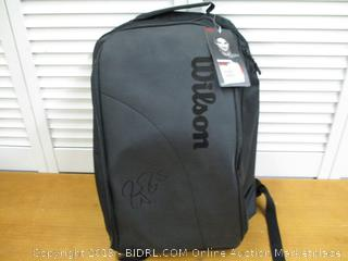 Wilson Roger Federer DNA Backpack - Black (Retail $80)