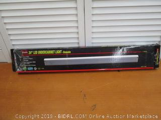 LED Light Bar, 24 Inch Under Cabinet Fixture