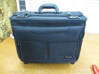 Samsonite Luggage Wheeled Catalog Case (Retail $160)