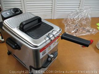 T-fal Deep Fryer with Basket, Stainless Steel, Model FR8000