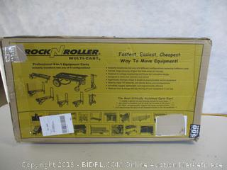 "Rock-N-Roller R10RT (Max) 8-in-1 Folding Multi-Cart 34"" to 52"" 500 lbs. Load Capacity"