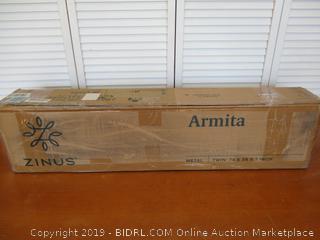 Zinus Armita 7 Inch Smart Box Spring / Mattress Foundation, Twin Size