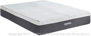 Classic Brands Cool Gel and Ventilated Memory Foam 12-Inch Mattress, Twin XL (Retail $300)