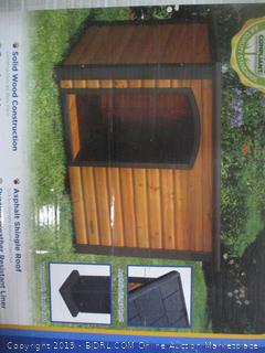 Outback Log Cabin for Dogs (Box Damaged)