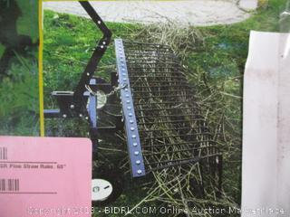 """60"""" Pine Straw/Debris Rake"""