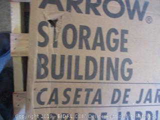 Arrow storage building - box damage, possibly incomplete