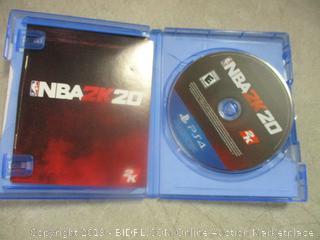 PS4 NBA 2K20 game
