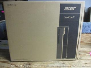 Acer Veriton X personal computer - powers on