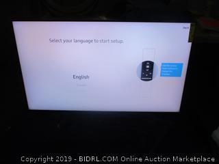 "Samsung Q60R 65"" flat TV"