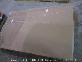 DreamLine SlimLine 34 in. D x 60 in. W x 2 3/4 in. H Right Drain Single Threshold Shower Base in White (Retail $252.00)