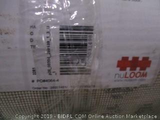 """nuLOOM Contemporary Geometric Diamond Area Rug 6"""" 7"""" X 9"""" (Retail $270.00)"""