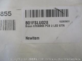Braun PCB 2 LED  See Pictures