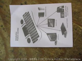 Mini Keyboard backlit