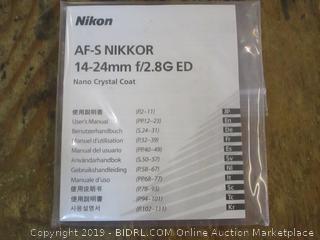Nikon Nikkor Lens