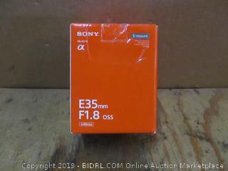 Sony E35mm Fi.8 oss