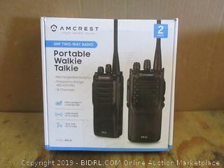 Portable Walkie Talkie