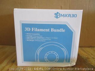 3D Filament Bundle