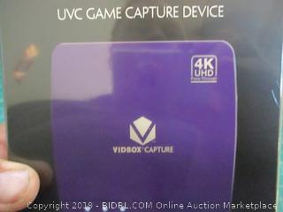 Vidbox Capture UVC Game Capture Device Factory Sealed