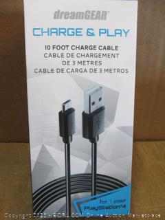 Charge & Play 10 Foot Charge Cable
